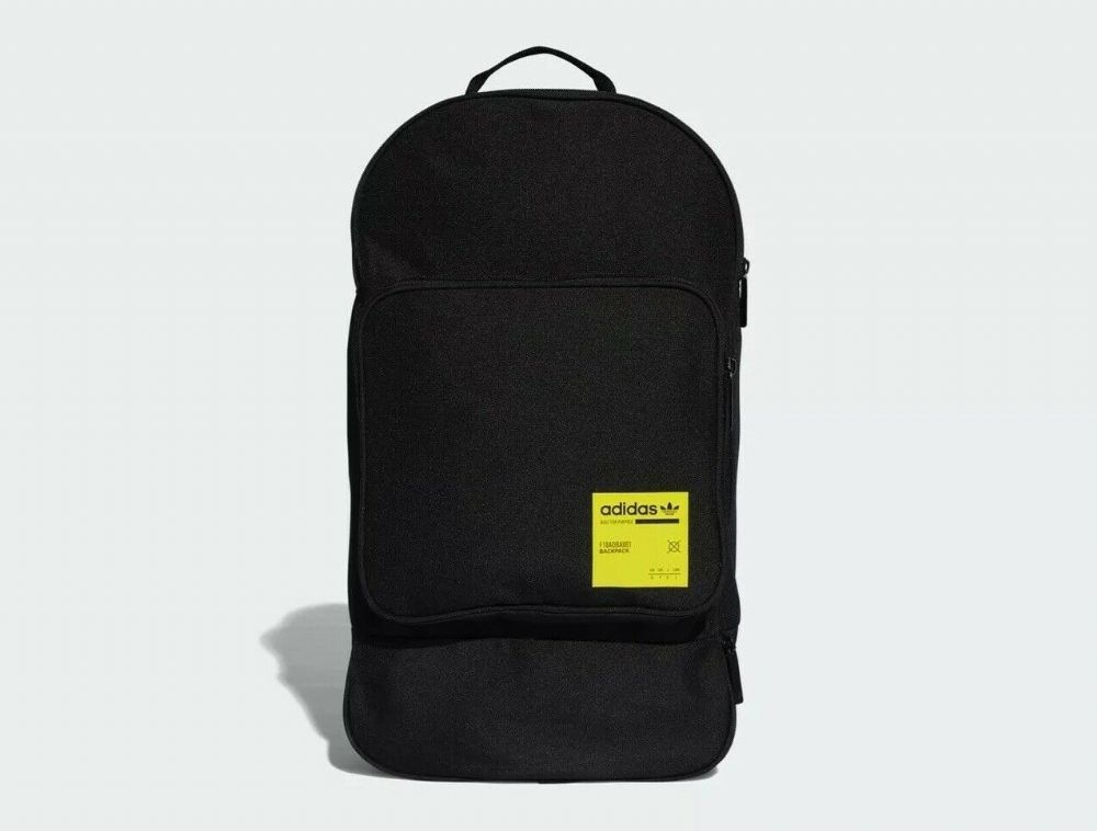 adidas Originals Large Kaval Backpack Bag in Black School Gym College Holidays